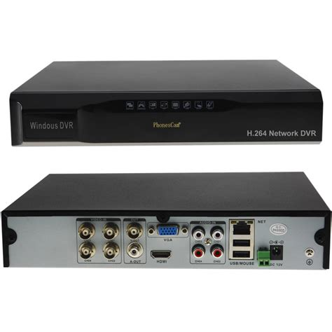 Dvr 4ch 4ch digital recorder h 264 network hd dvr cctv security system ui bnc hdmi ebay