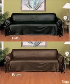How To Cover Leather Sofa Slip Covers Leather Couches And On