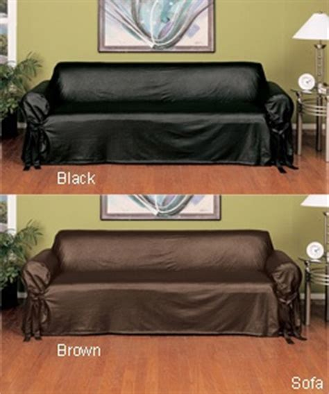 how to cover a leather sofa faux leather slipcover sofa leather slip covers