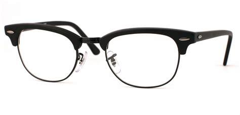 ban rx5154 clubmaster eyeglasses browline classic