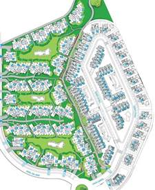 Townhouse Plan roda golf site map and master plan from casa de brezo