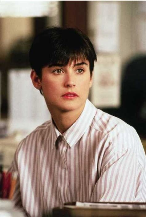 Demi Moore Haircut In Ghost The Movie | demi moore ghost short hair ghost pinterest shorts