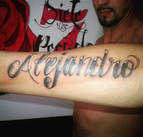 imagenes tatuajes con el nombre alejandro nombre alejandro