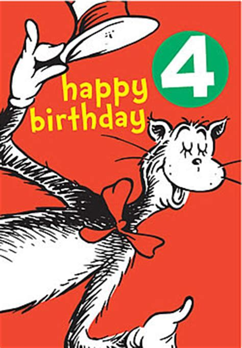 Dr Seuss Birthday Card Dr Seuss Cards