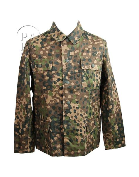 dot pattern jacket jacket camouflaged dot pattern paratrooper