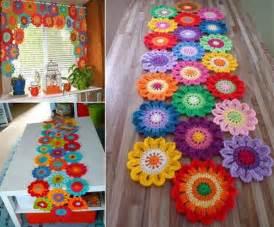 free crochet valance pattern crochet flower valance free pattern beesdiy