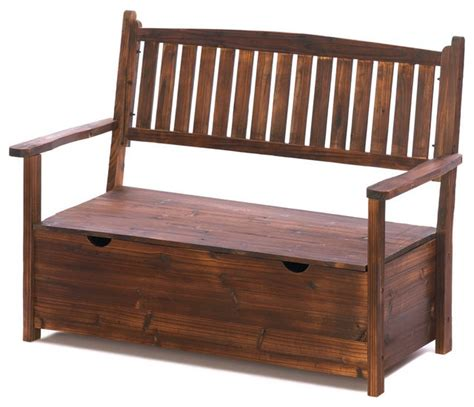 rustic storage benches garden grove storage bench rustic outdoor benches by