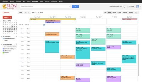 Show My Calendar Calendar Changing The Layout And Creating Editing