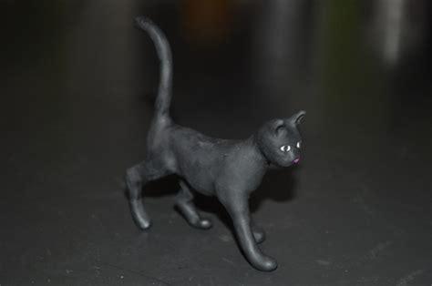 tiny clay cats polymer clay