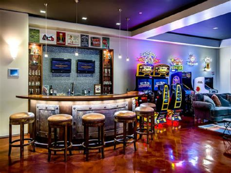 man cave bar create a man cave in your garage home decor ideas