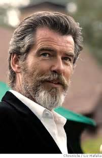Pierce brosnan with that beard and it style i wondering if he s