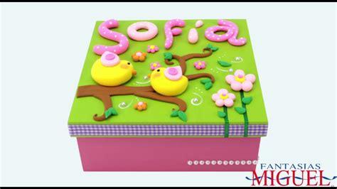 caja de regalo hecha de foami caja para regalo con fomi moldeable youtube