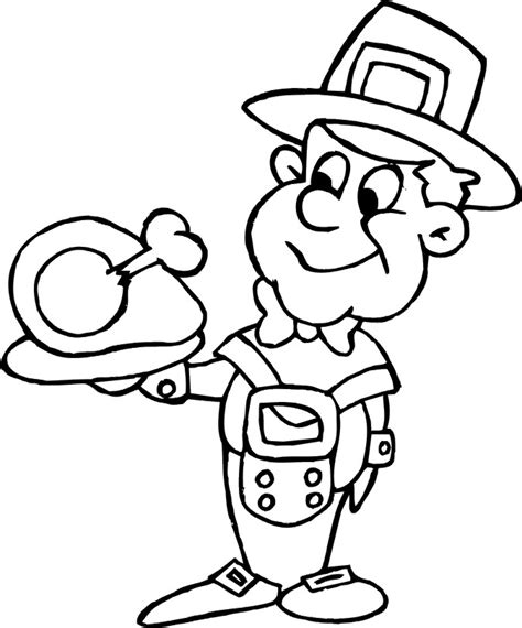 cooked turkey coloring page free cooked turkey drawing coloring home