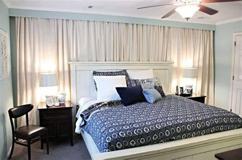 wall to wall curtain bedroom inspiration
