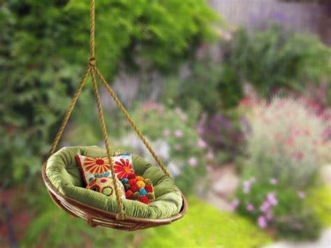 outdoor papasan swing 10 diy adorable tree swing a papasan swing gotta tell the