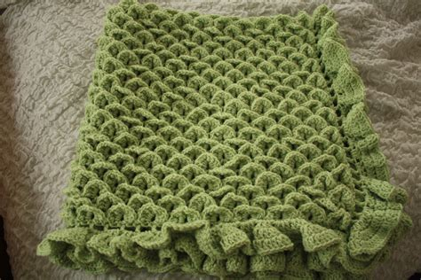 Crocodile Stitch Crochet Blanket by Crocodile Stitch Baby Blanket S Crafty Creations