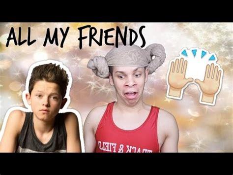 friends jacob sartorius reaction youtube