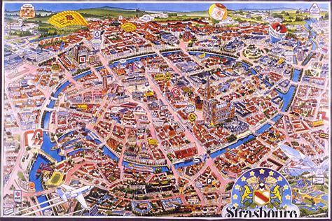 Strasbourg Plan by Strasbourg Plan De Strasbourg Bas Rhin Alsace