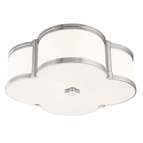 polished nickel flush mount ceiling light 1216 pn hudson valley lighting 1216 pn chandler 3 light