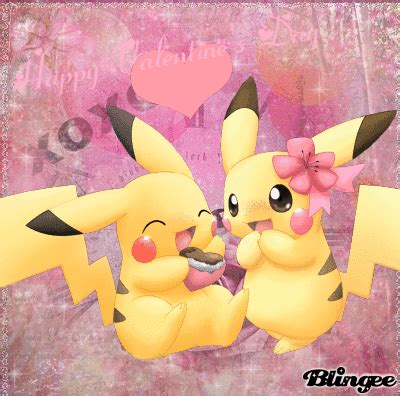pikachu valentines day happy s day picture 128113078 blingee