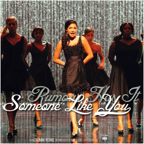rumour has it on tumblr glee song covers