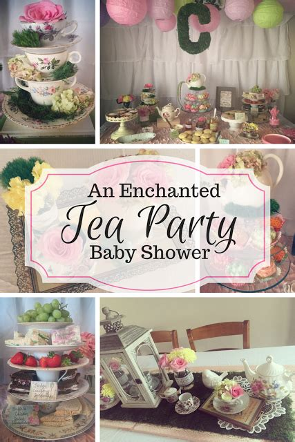 Tea Baby Shower by Enchanted Tea Baby Shower Pinteres