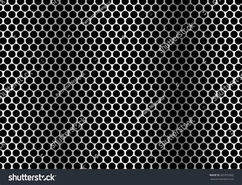 pattern metal illustrator abstract metal circle mesh pattern background stock vector