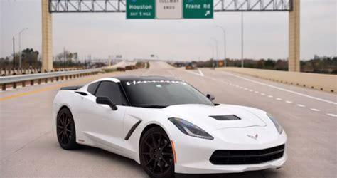 200 Mile Per Hour Corvette by Fast Car 2014 Corvette Stingray At 200 Per Hour
