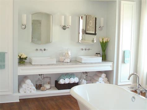 how to organize bathroom cabinets vanity organizer hgtv