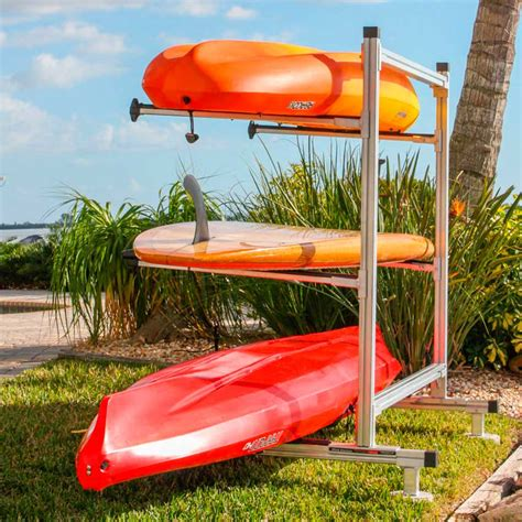 Canoe Rack Storage by Storage Rack For Canoes Kayaks Sup Boards And Other