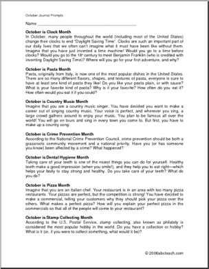 Sle Persuasive Essay For 6th Graders by 17 Best Images Of 6th Grade Writing Prompts Worksheets