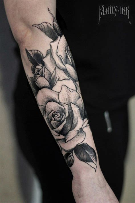 derrick rose forearm tattoo roses forearm by family ink family ink