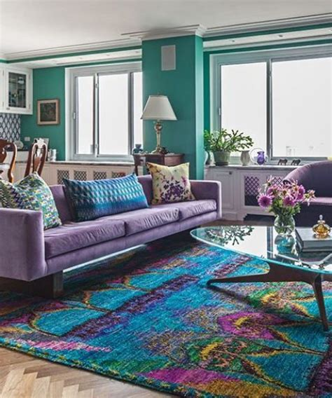 purple and turquoise bedroom ideas home decorating 34 analogous color scheme d 233 cor ideas to get inspired