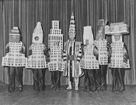 famous new york architects famous architects dressed as their buildings neatorama