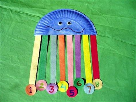 Paper Plate Octopus Craft - paper plate counting octopus craft for this simple