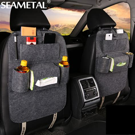 Big Car Organizer 5 car organizer storage bag back seat box organizer holder in cars backseat pockets drink phone