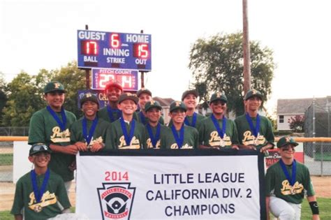 section 8 little league california fundraiser by natalie ackroyd pacifica american little