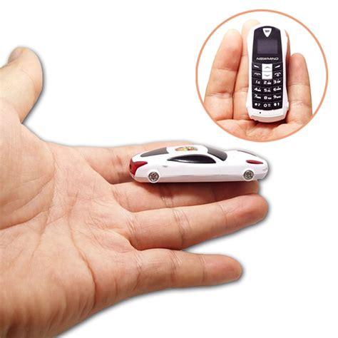 Mini 1 Cellular newmind f1 qual band smallest car model mini cell phone sos bluetooth 3 0 dialer fm radio mp3