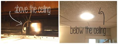 Installing Can Lights In Drop Ceiling Operation Laundry Room Lighting Reality Daydream