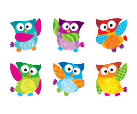 printable owl birthday chart borders and accents cliparts co