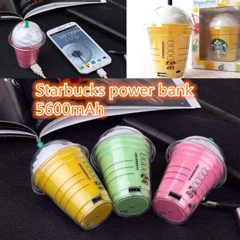new arrival 3taste starbucks power bank 5600mah portable