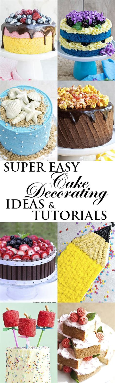 love these quick and easy cake decorating ideas for church best 25 decorating cakes ideas on pinterest cake