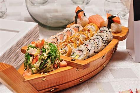boat sushi free photo food sushi boat seafood free image on