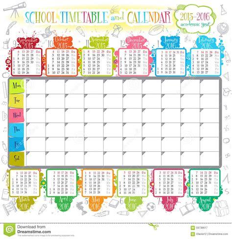 art design kalender 2015 kalender 2015 2016 vektor abbildung illustration von