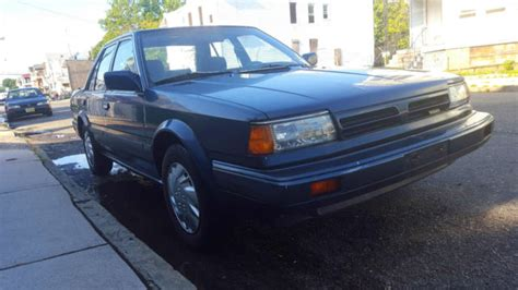 1989 nissan stanza 1989 nissan stanza gxe sedan 4 door 2 0l low 69k