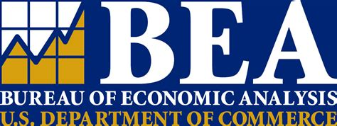 commerce bureau bureau of economic analysis bea logo department of
