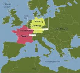 map of europe and germany teaching geography