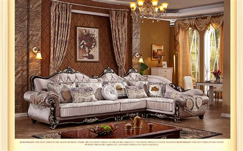 Living Room European Style Sofa New Classics French Sofa European Style Living Room Furniture
