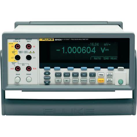 bench multimeter bench multimeter digital fluke 8845a calibrated to