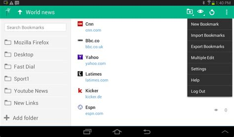 bookmarks android eversync bookmarks and dials android apps on play